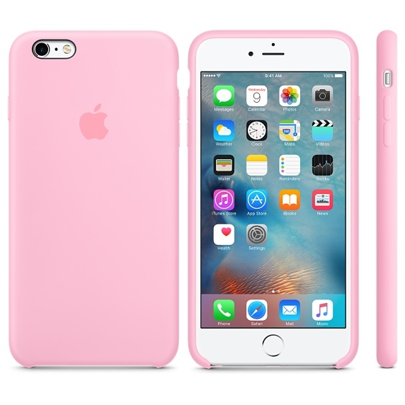 iPhone 6/6s Silicone Case - Light Pink - 1