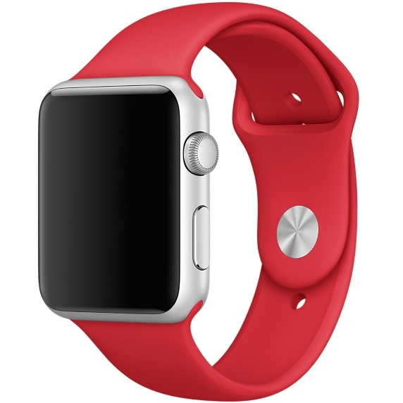 Ремешок Red Sport Band for Apple Watch 42mm - 1