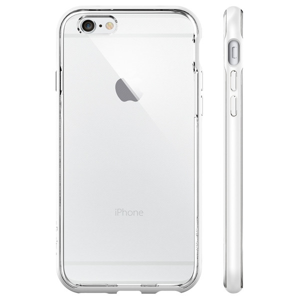 Чехол iPhone 6/6s Spigen Neo Hybrid EX White - 2