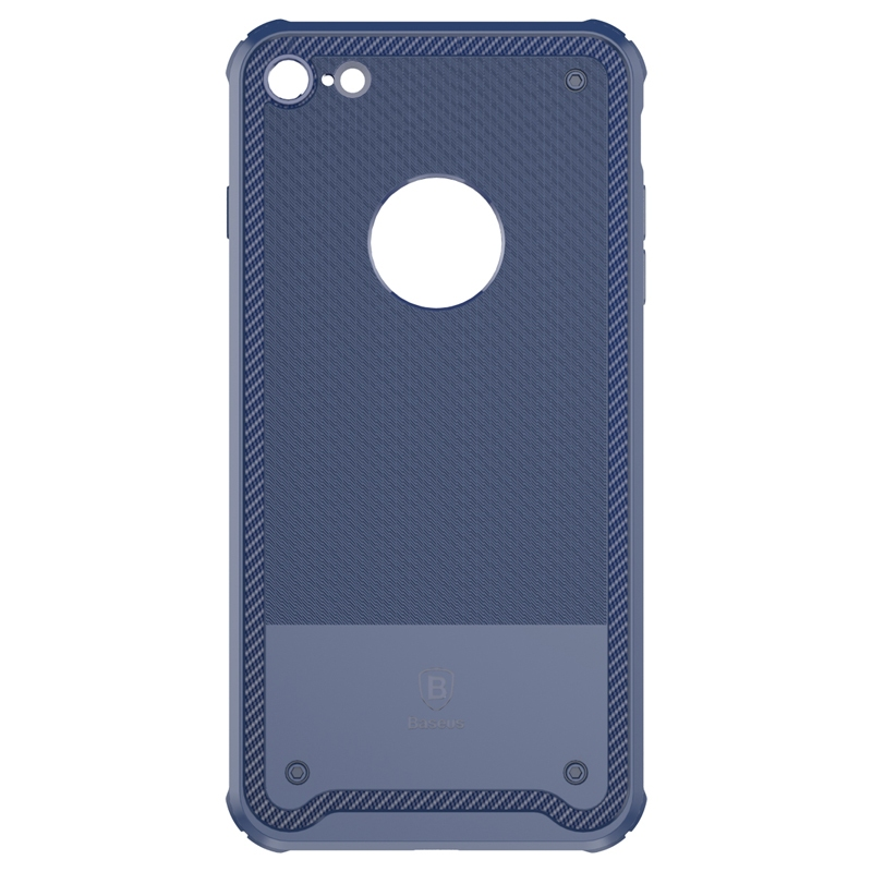 Чехол Baseus Shield Case for iPhone 7 Plus/8 Plus Dark blue - 1