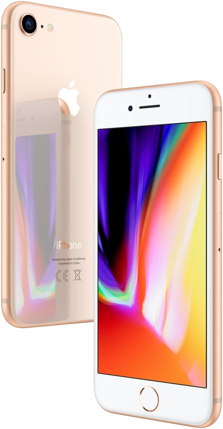 Apple iPhone 8 - 256GB Gold - 2
