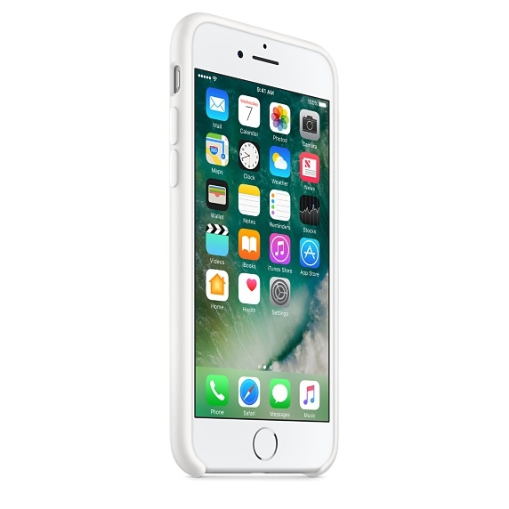 iPhone 7/8 Silicone Case - White - 3