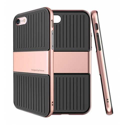 Чехол Baseus Travel Series Case For iPhone 7/8 Rose gold - 1