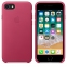 iPhone 7/8 Leather Case - Pink Fuchsia - 2