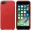 iPhone 7/8 Leather Case - (PRODUCT)RED - 2