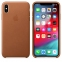 iPhone XS Max Leather Case - Saddle Brown - 1