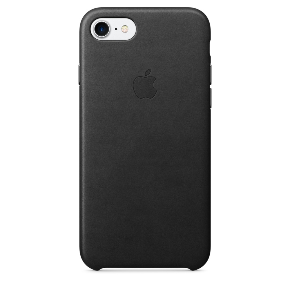 iPhone 7/8 Leather Case - Black