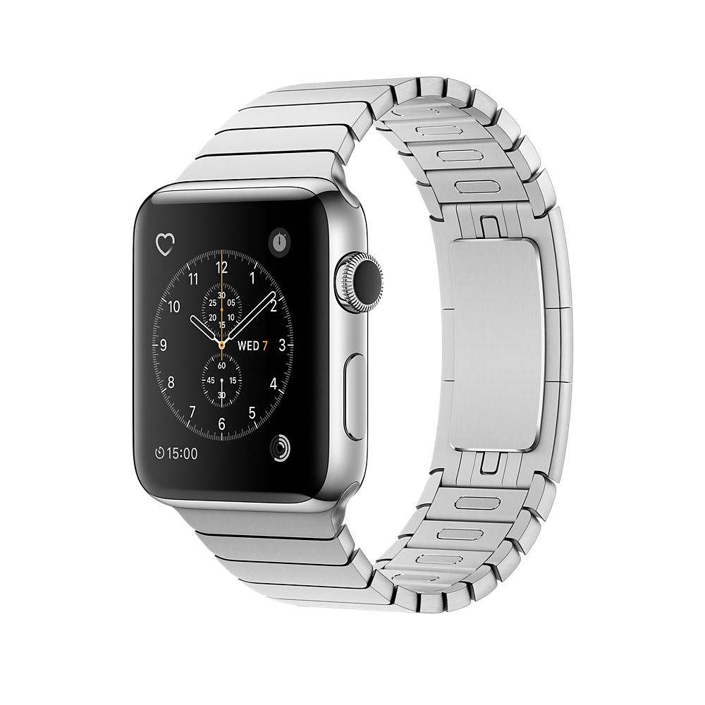 Apple Watch, 42 mm Stainless Steel Case with Link Bracelet MNPT2
