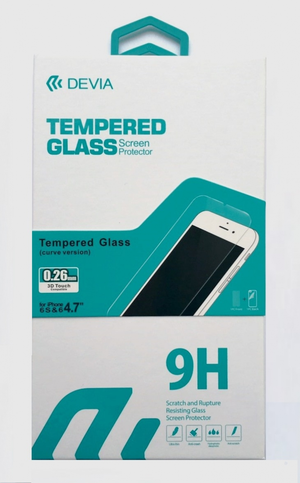 Devia Tempered Glass for iPhone 6/6S