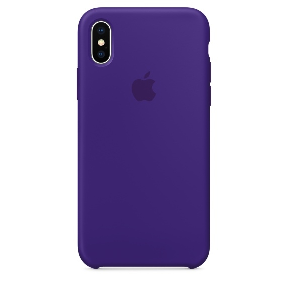 iPhone X\Xs Silicone Case - Ultra Violet