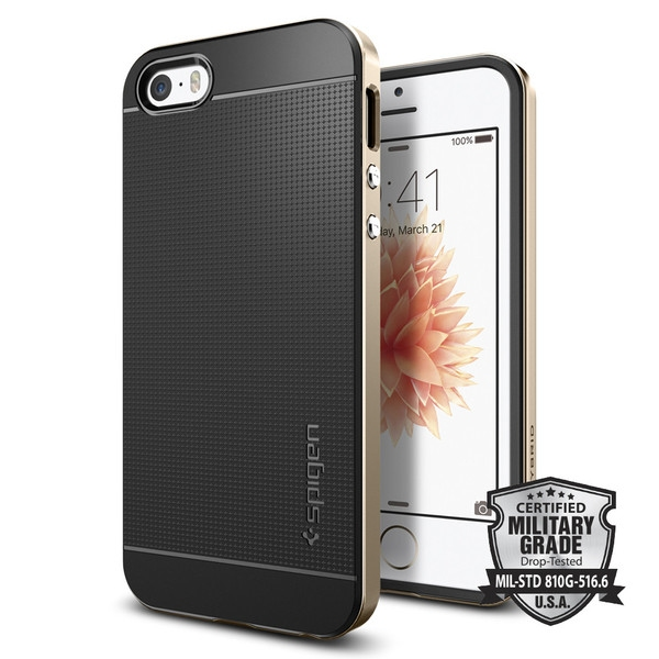 Spigen Neo Hybrid Case for iPhone SE/5S/5 Gold