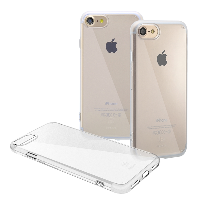 Чехол Baseus Simple Series Case (Anti-scratch) for iPhone 7/8 Transparent