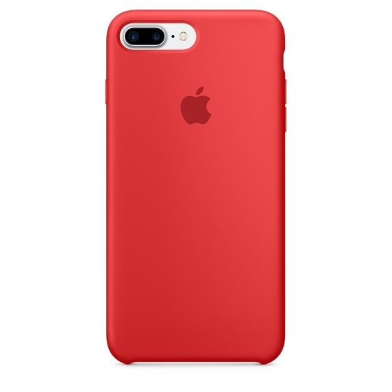 iPhone 7 Plus/8 Plus Silicone Case - (PRODUCT)RED