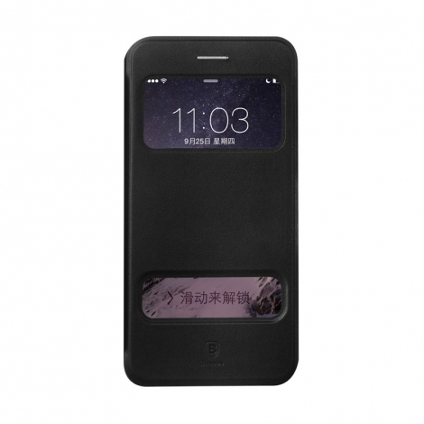 Baseus Pure View Case iPhone 6/6S Black