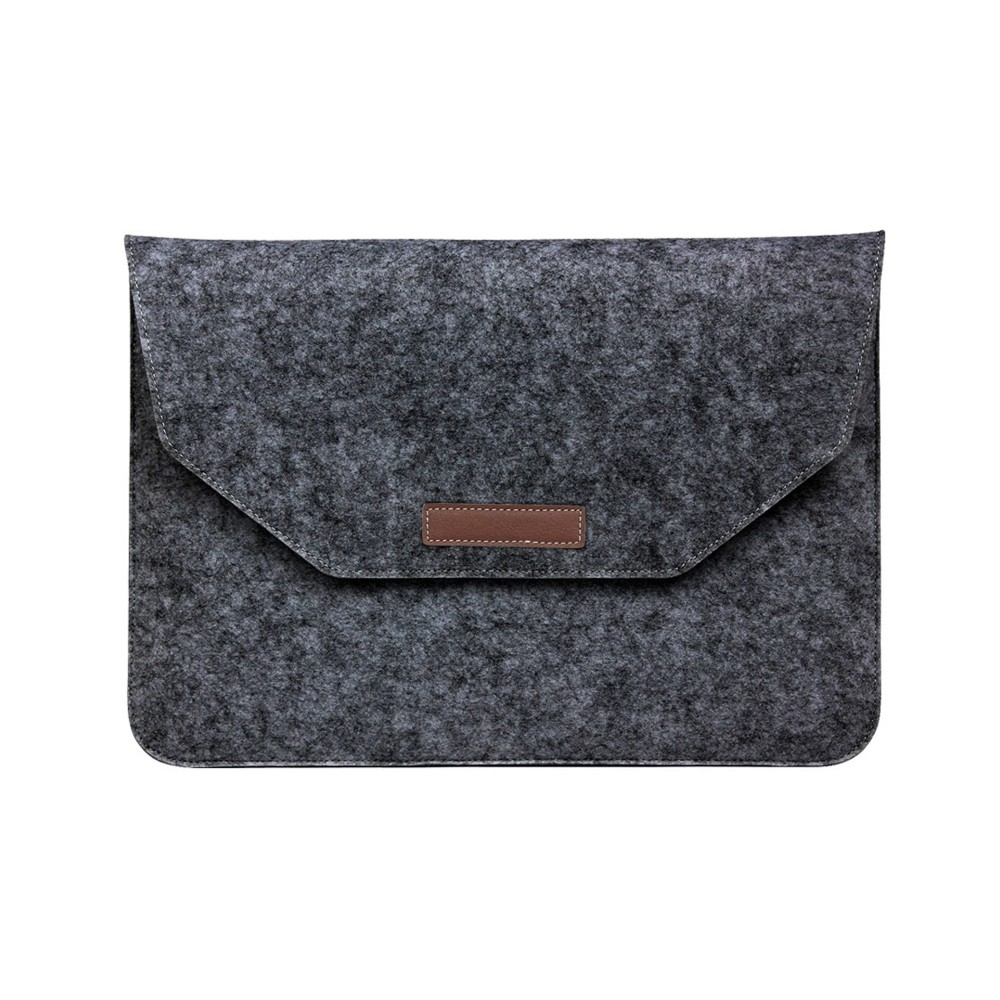 "Чехол-конверт из войлока для MacBook 12-13"" Dark Gray"