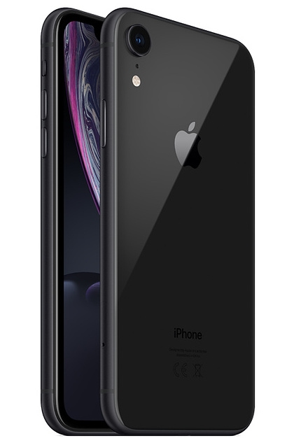 Apple iPhone Xr - 64GB Black (DUAL SIM)