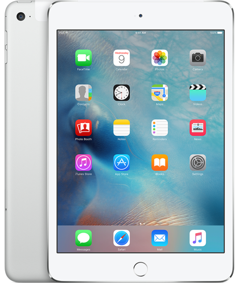 Apple iPad mini 4 Wi-Fi 128GB Silver