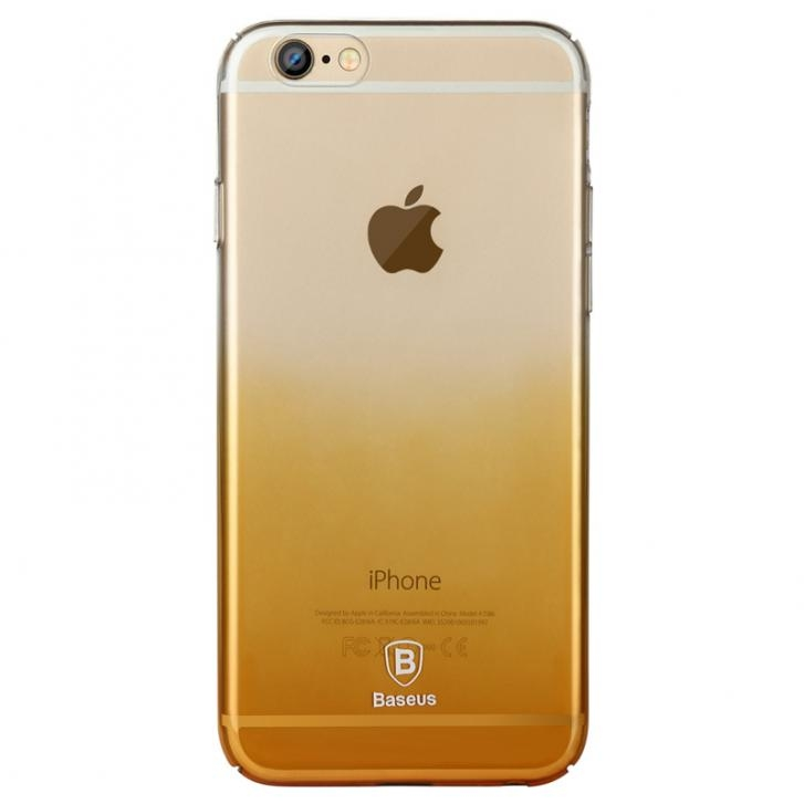 Baseus Gradient case for iphone 6 Plus/6S Plus Gold