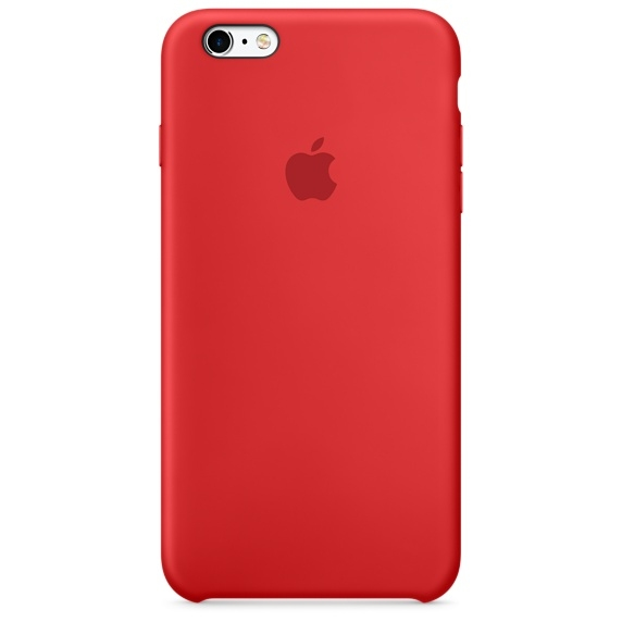 iPhone 6 Plus/6s Plus Silicone Case - (PRODUCT)RED