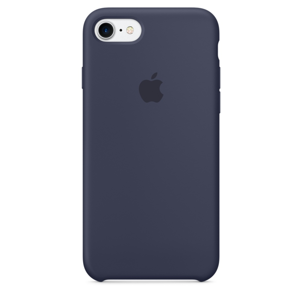iPhone 7/8 Silicone Case - Midnight Blue