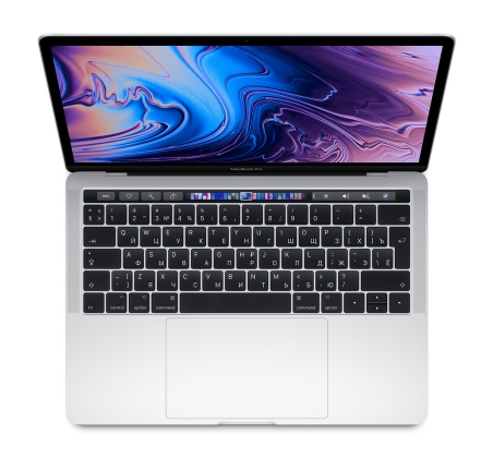 "Apple MacBook Pro 13"" - 256Gb Silver MR9U2 (2018)"