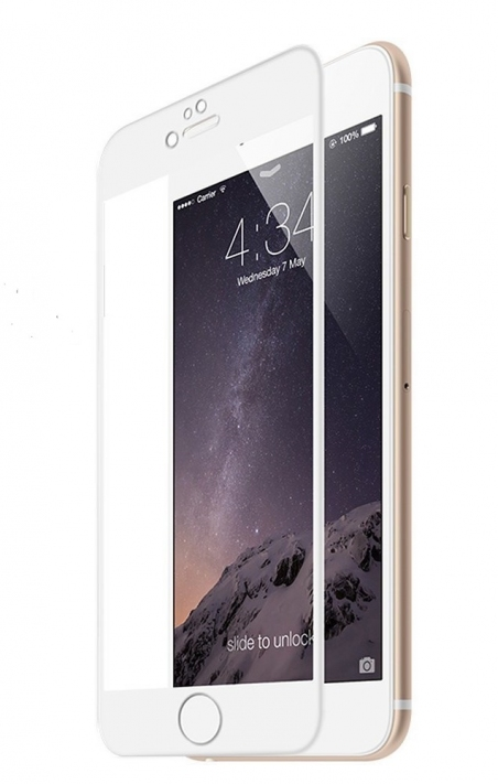 3D Tempered Glass for Apple iPhone 7/8 White