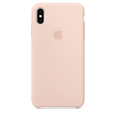 iPhone XS Max Silicone Case - Pink Sand