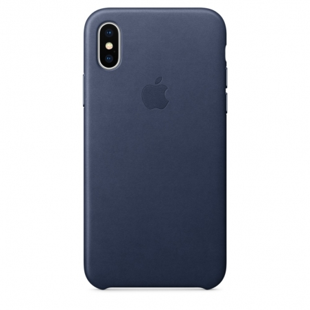 iPhone X\Xs Leather Case - Midnight Blue