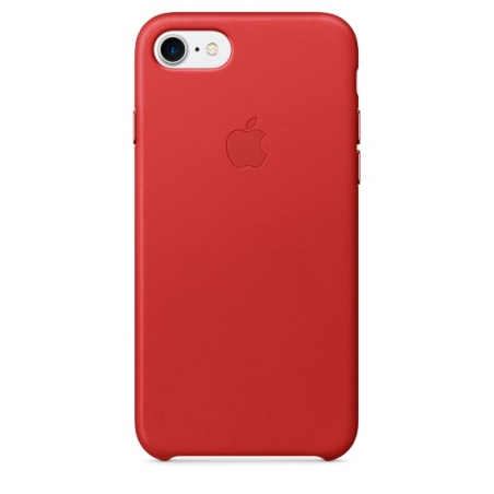 iPhone 7/8 Leather Case - (PRODUCT)RED