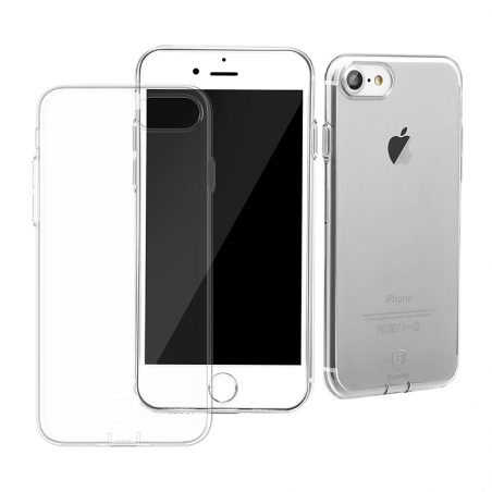 Чехол Baseus Simple Series Case (With-Pluggy) for iPhone 7/8 Transparent