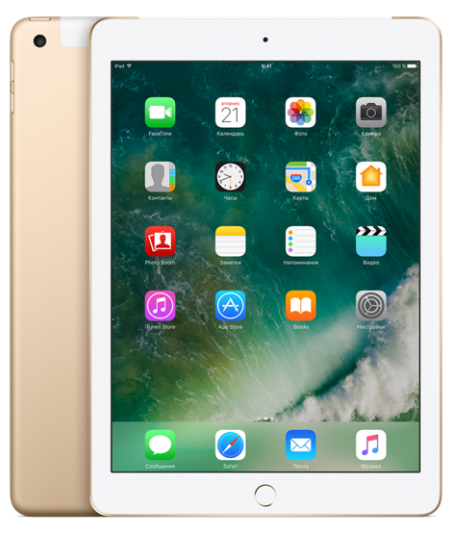 Apple iPad 32GB Wi-Fi+Cellular Gold