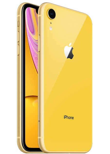 Apple iPhone Xr - 128GB Yellow (DUAL SIM)