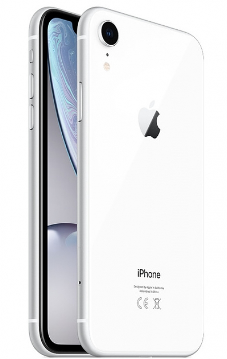Apple iPhone Xr - 256GB White (DUAL SIM)