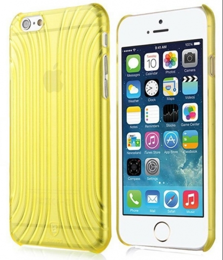 Накладка Baseus iPhone 6/6S Shell Yellow