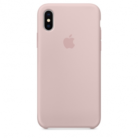 iPhone X\Xs Silicone Case - Pink Sand