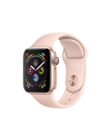 Apple Watch GPS 40mm Gold Aluminum Case with Pink Sand Sport Band (MU682)