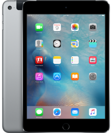 Apple iPad mini 4 Wi-Fi + Cellular 128GB Space gray