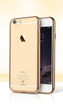 Baseus iPhone 6/6S Shining Case Transparent Gold