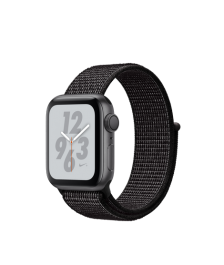 Apple Watch Nike+ Series 4 (GPS) 40mm Space Gray Aluminum Case with Black Nike Sport Loop (MU7G2)