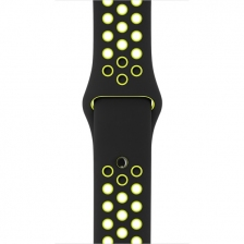Ремешок Nike Sport Band Black/Volt for Apple Watch 38mm