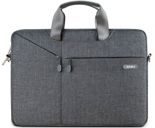 "Сумка WIWU Gent Brief Case для MacBook 15,4"" Gray"