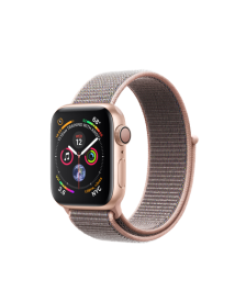 Apple Watch GPS 40mm Gold Aluminum Case with Pink Sand Sport Loop (MU692)