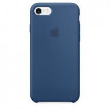 iPhone 7/8 Silicone Case - Ocean Blue