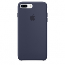 iPhone 7 Plus/8 Plus Silicone Case - Midnight Blue