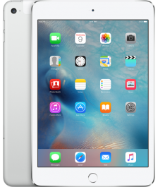Apple iPad mini 4 Wi-Fi + Cellular 128GB Silver