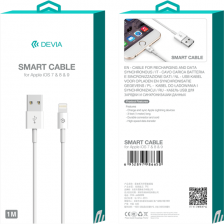 USB-кабель Devia Smart Cable Lightning for Apple 1m