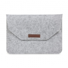 "Чехол-конверт из войлока для MacBook 12-13"" Gray"