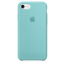 iPhone 7/8 Silicone Case - Sea Blue