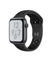 Apple Watch Nike+ Series 4 (GPS) 44mm Space Gray Aluminum Case with Anthracite/Black Nike Sport Band (MU6L2)