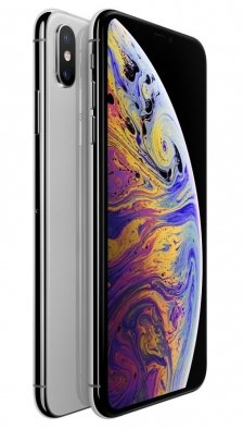 Apple iPhone Xs Max - 64GB Silver (Dual Sim)